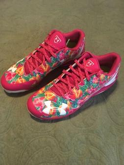 New Under Armour Sz 10 Mens Football Cleats Floral Limited E