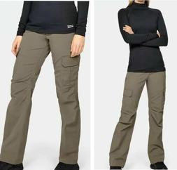 New Womens Under Armour UA Storm Tactical Patrol Pants Khaki