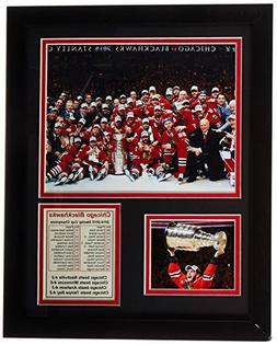 NHL Chicago Blackhawks Legends Never Die Framed Photo Collag