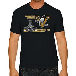 NHL Pittsburgh Penguins NHL Men's Stanley Cup Champs Tee, Me