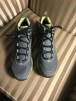 NWT Under Armour Mens Sz 10 Shoes Gore-Tex Cupron Gray Green