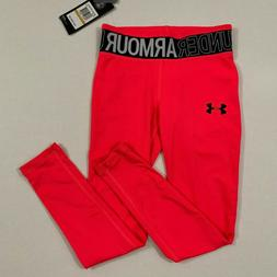 Under Armour NWT Youth Girls Long Leggings Size S M L XL 8 1