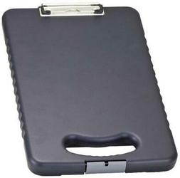 Officemate OIC Letter/A4 Size Tablet Clipboard Case, Charcoa