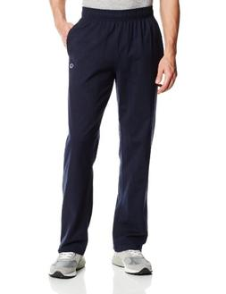Champion Men's Authentic Open Bottom Jersey Pant, Large - Na