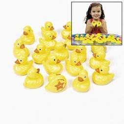 OTC - 20 Yellow Plastic Weighted Carnival Ducks Matching Gam