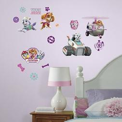 RoomMates Paw Patrol Girl Pups Peel & Stick Wall Decals