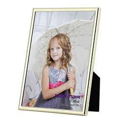 RPJC 5x7 Picture Frame Made of Metal  and High Definition Gl