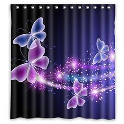 RELAX Pink Purple Butterfly Shining Light Under Blue Sky Wat