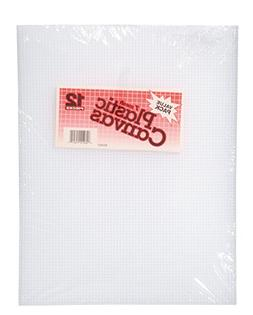 Plastic Canvas 7 Count 10-1/2X13-1/2 Value Pack-Clear 12/Pkg