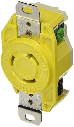 Receptacle Locking Blade Corrosion Resistant L5-20R 20A 125V