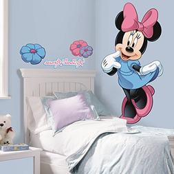 Roommates Rmk1509Gm Minnie Mouse Peel And Stick Giant Wall D
