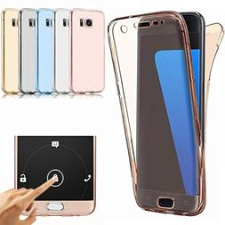 Samsung Galaxy S7 Edge Case, AMASELL Full Coverage 360 degre