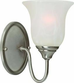 Hardware House 54-4015 Saturn Wall Sconce, Satin Nickel