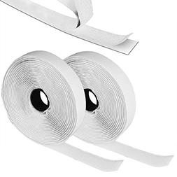 GZQ Self Adhesive Sticky Tape Hook and Loop Strip Tape Stick