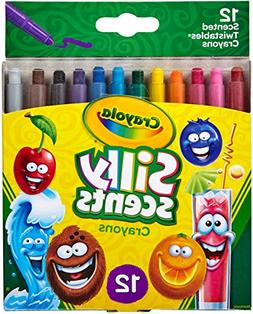 Crayola Silly Scents Twistables Crayons, Sweet Scented Crayo