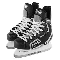 DR Sports Sonic Shield Boys Ice Hockey Skates For Kids Stain