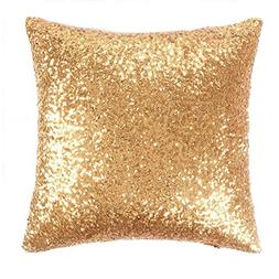Sparkling Sequins Stylish Cusion Covers - PONY DANCESolid Ac