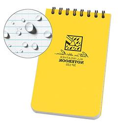 "Rite in the Rain 135L All-Weather Top-Spiral Notebook, 3"" x"