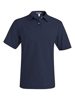 Jerzees Men's SpotShield Jersey Pocket Polo,J Navy,X-Large