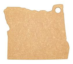 Epicurean State of Oregon Cutting and Serving Board, 12 by 1