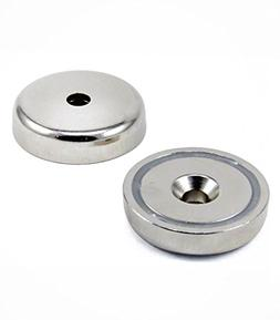 Super Strong Round Base Cup Magnet Mount Fastener w/ Counter