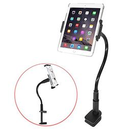 """Macally Tablet Holder Stand / Phone Clamp Mount with a 16"""" F"""