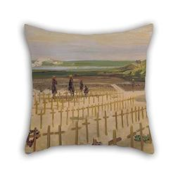 Throw Cushion Covers Of Oil Painting Lavery, John    - The C