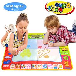 Joyjam Toys for Boys 3-5 Years Old, Water Doodle Mat Magic D