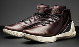 Under Armour UA Curry 3 Lux Limited Edition Oxblood Leather