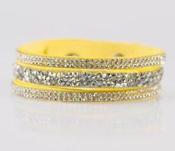 Paparazzi Under $10 I Love Rock And Roll bracelet yellow