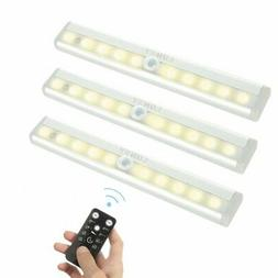 Under Cabinet Lighting 10 LED Battery Operated Wireless Remo
