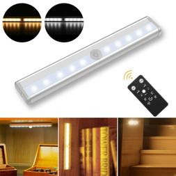 Under Cabinet Lighting 10 LED Lamp Battery Operated Wireless