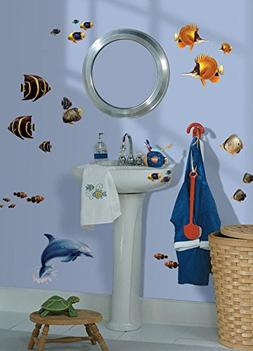 Under The Sea Wall Decal 6 x 11in