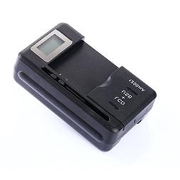 Universal LCD battery Charger, Travel chargering for Samsung
