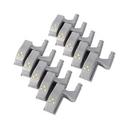 10pcs Universal Cabinet Cupboard Hinge LED Light For Modern