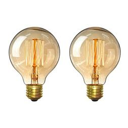Vintage Light Bulbs 60w - Elfeland Antique Retro Edison Glob