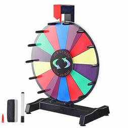 """WinSpin 12"""" Editable Color Prize Wheel Fortune Spin Game 14"""