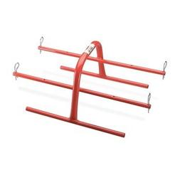 Wire Spool Hand Caddy, 4 Spindles, Steel