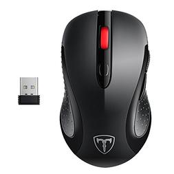 VicTsing 2.4G Wireless Mouse Wireless Optical Laptop Mouse w