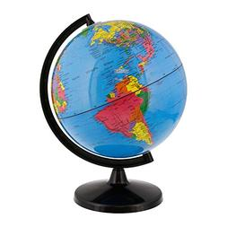 World Globe Great for Kids and Adults with Stand Desk 8 inch