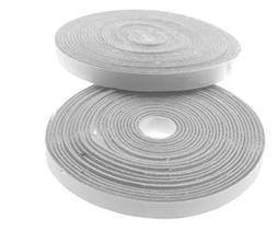 10mm x 5m Self Adhesive Hook and Loop Strip Sticky Tape Mate